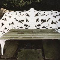 Wrought Iron Bench - YGA00375