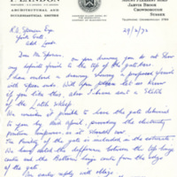 Letter from F Landon - YGA00975