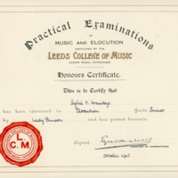 Sybil - Elocution Certificate YG00534