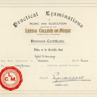Sybil - Elocution Certificate - YGA00532