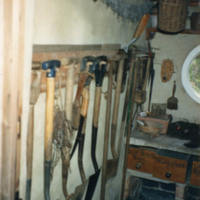 Tools in Potting Shed - YGA00301<br /><br />