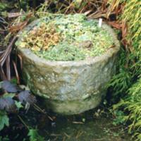 Round Stone Pot - YGA00351