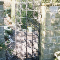 Victorian Style Metal Gate - YGA00386<br /><br />