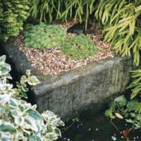 Square Stone Trough - YGA00350