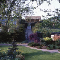 View From the Orchard Towards the Summerhouse - YGA00423