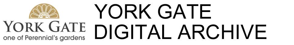 York Gate Digital Archive