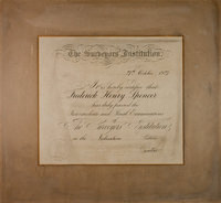 Surveyors' Institute Certificate - Fred Spencer - YGA00543