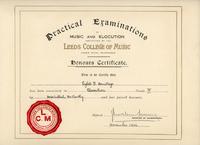 Sybil - Elocution Certificate - YGA00537