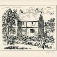 Drawing of York Gate House -YGA000429