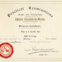 Sybil - Elocution Certificate - YGA00531
