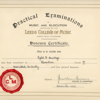 Sybil - Elocution Certificate - YGA00537