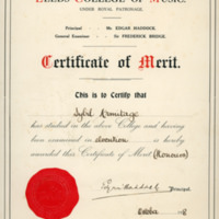Sybil -  Elocution Certificate - YGA00528