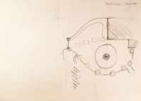 Pencil Sketch of Maze and Drive - YGA00953
