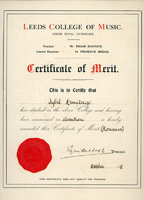 Sybil -  Elocution Certificate - YGA00528