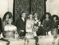 Fred and Sybil Spencer's Wedding Reception - YGA00026
